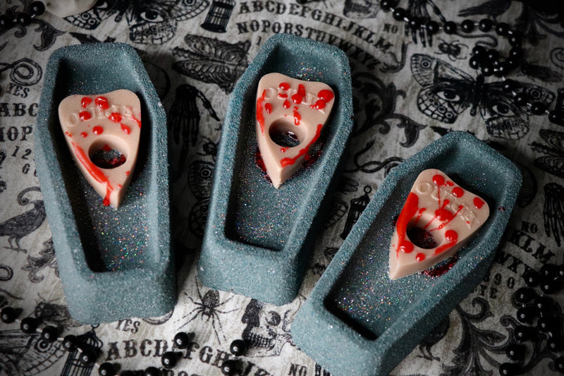 Talking Dead Coffin Bath Bomb