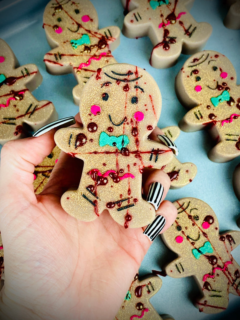 Bloody Gingerbread Bar Soaps