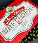 Large Mrs.Claus bake shop  box