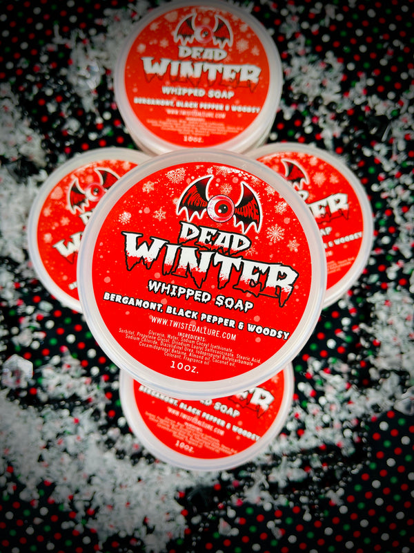 Dead Winter Whipped Soap