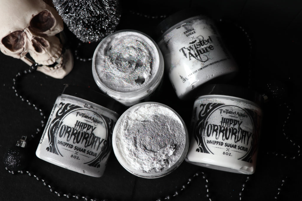 Happy Horror Days Whipped Sugar Scrub