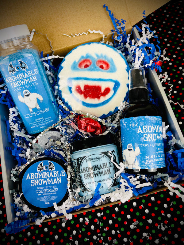 Abominable Snowman Gift Set
