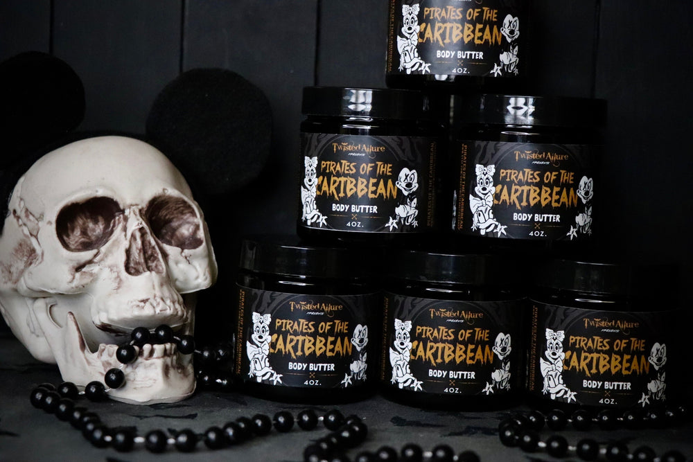Pirates pf the Caribbean  Body Butter