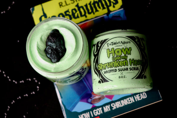 How I got my Shrunken Head Sugar Scrub