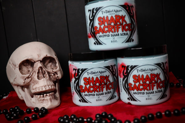 Shark Sacrifice Whipped Sugar Scrub