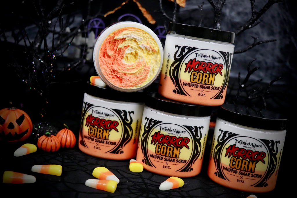 Horror Corn Whipped Sugar Scrub