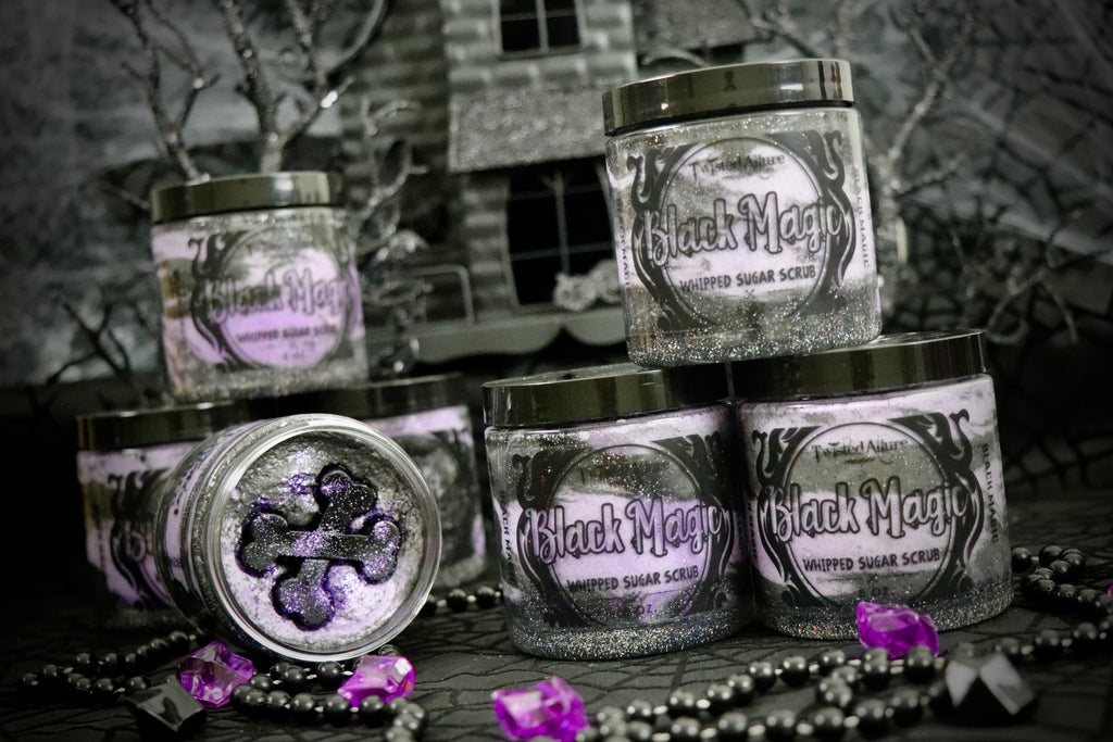 Black Magic Whipped Sugar Scrub