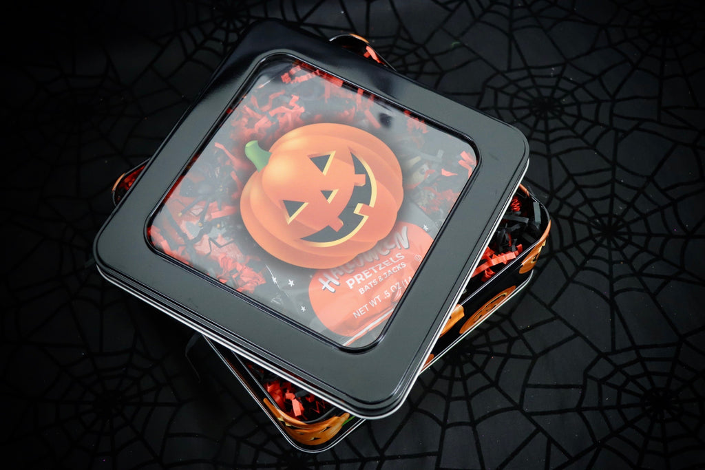Dark Pumpkin Tin