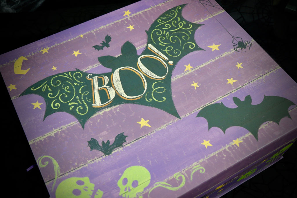 Huge Boo Witch  Box