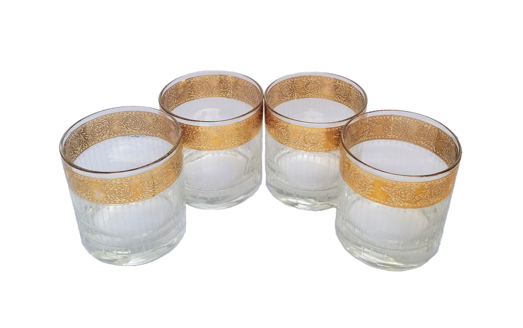 Vintage Set of 4 Culver