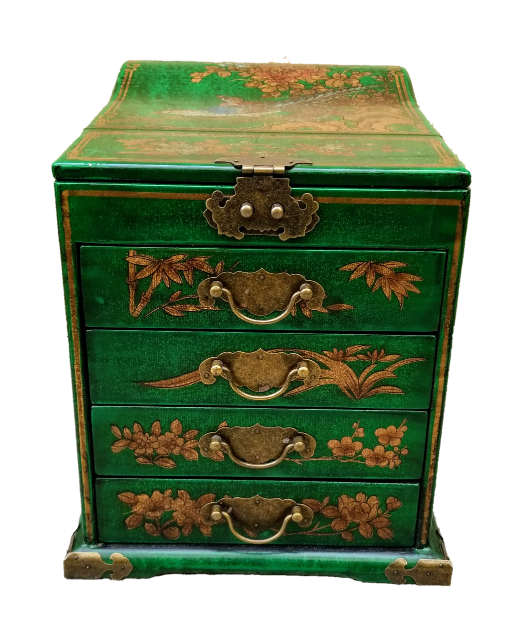 Antique Reproduction of Chinese Vanity / Jewelry Box