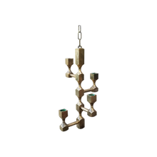 Load image into Gallery viewer, Lars Bergsten for Gussum Solid Brass Hanging Candelabra