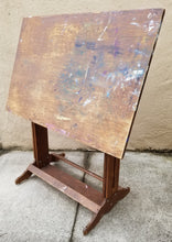 Load image into Gallery viewer, Vintage Industrial Primitive Adjustable Height Drafting Table Standing Desk