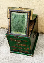 Load image into Gallery viewer, Antique Reproduction of Chinese Vanity / Jewelry Box