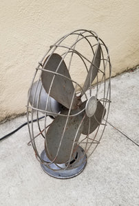 Vintage Industrial Large Emerson Electric Fan