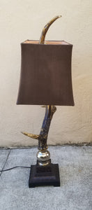 Uttermost Faux Deer Antler Table Lamp