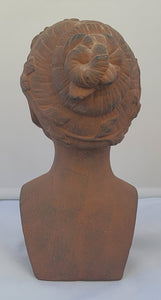 Terra Cotta Greek Revival Woman Bust