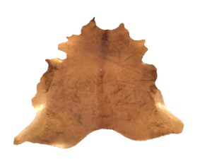 Large Brown Cowhide Rug