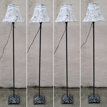 Load image into Gallery viewer, Antique Ornate Cast Iron Victorian Floor Lamp