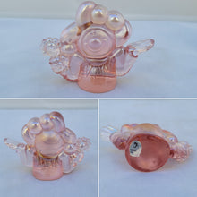 Load image into Gallery viewer, Vintage Fenton Pink Carnival Glass Clown Figurine