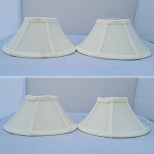 1980s Empire Chandelier Shades - A Pair