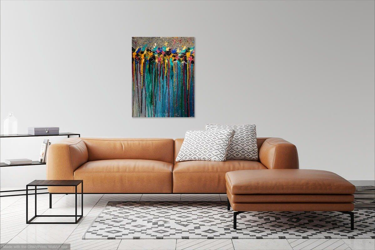 '2L-5N'Original Abstract Painting Painting Joseph Dixon
