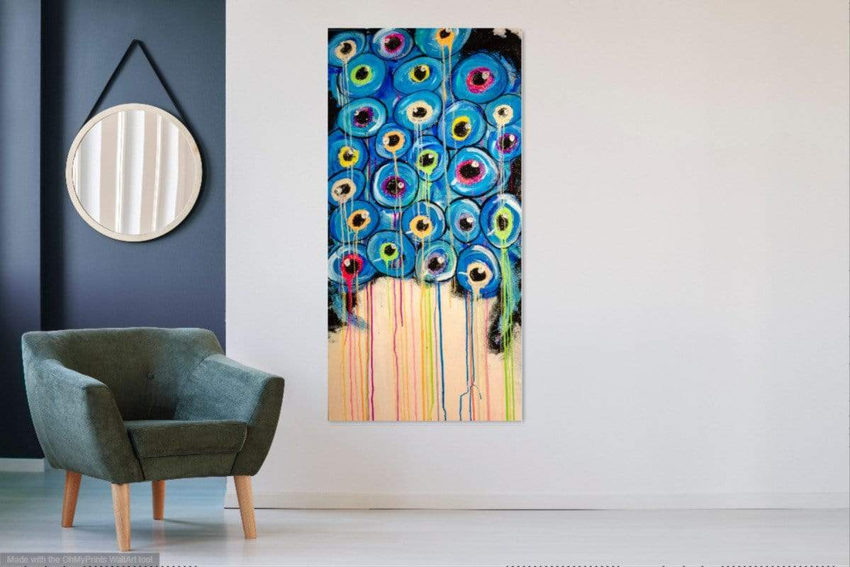 'All Those in Favor' Original Abstract Painting Painting Joseph Dixon