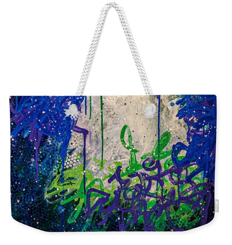 Blue Legume - Weekender Tote Bag Weekender Tote Bag J. Dixon Art & Design