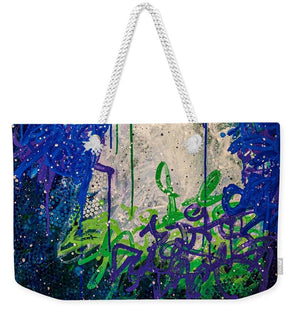 Open image in slideshow, Blue Legume - Weekender Tote Bag Weekender Tote Bag J. Dixon Art & Design