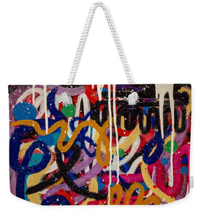 Open image in slideshow, Can You Handle It Two - Weekender Tote Bag Weekender Tote Bag J. Dixon Art & Design