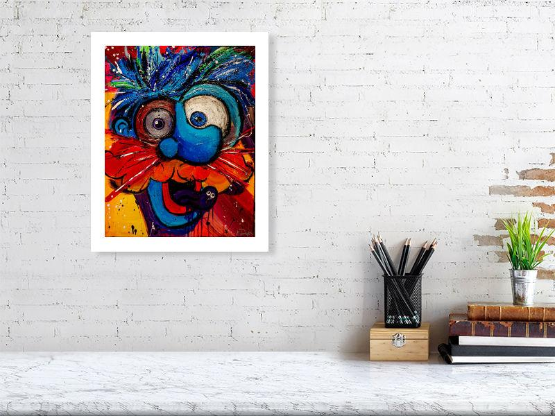 'It's on the Tip of my Tongue' Limited Edition Giclée Print Giclée J. Dixon Art & Design