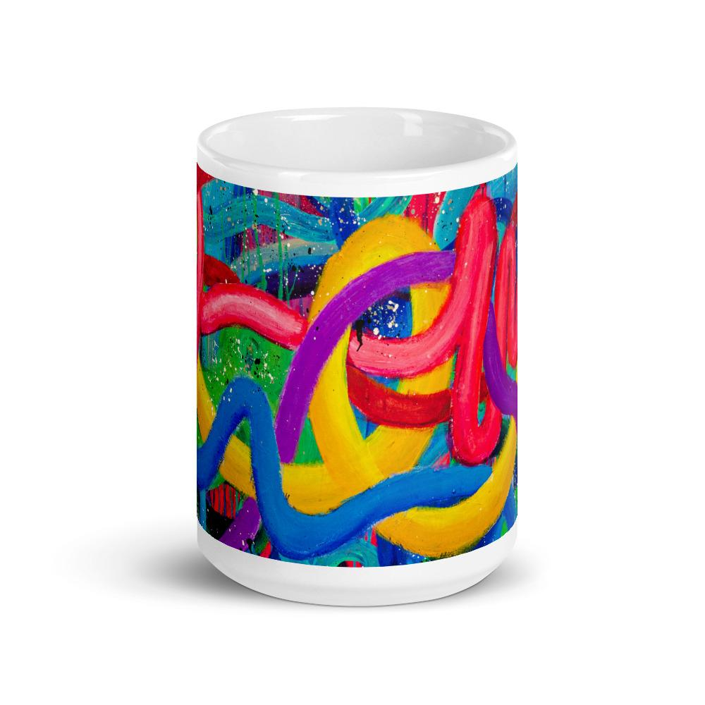 The 5 G's Mug Mug J. Dixon Art & Design