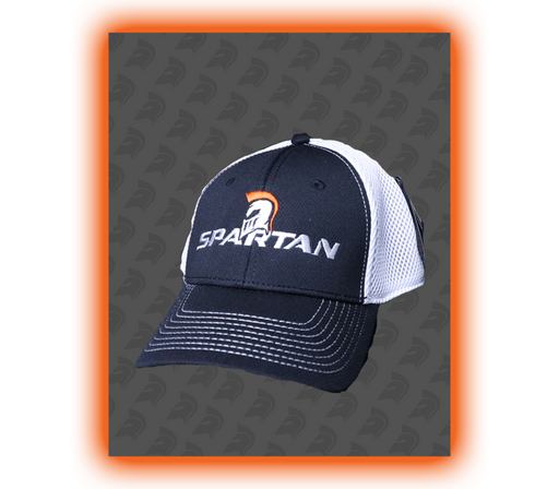 Spartan Flex Cap - White/Black