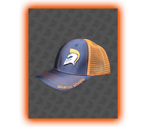 Spartan Snapback Cap - Orange/Gray