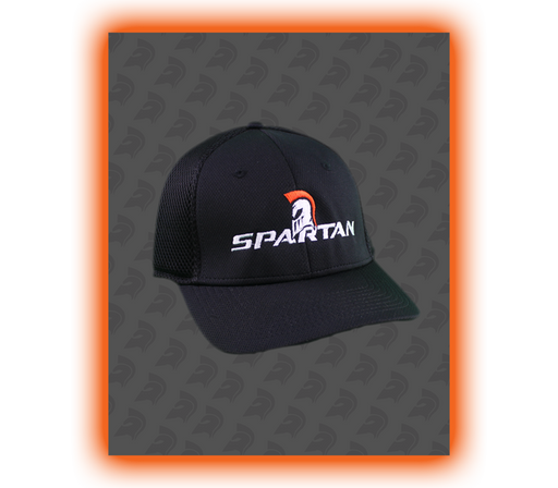 Spartan Flex Cap - Black