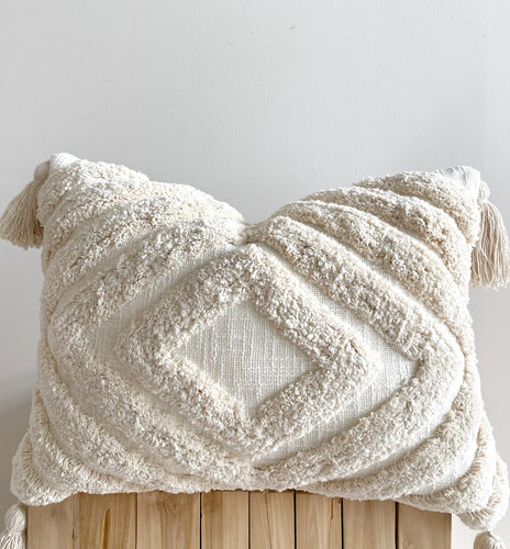 boho cream textured cushions and homewares australia