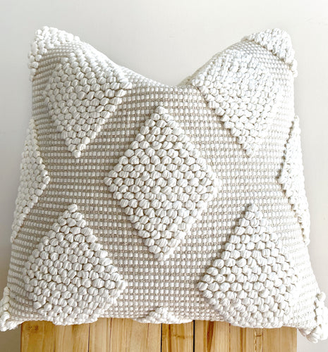 boho cream textured cushions and homewares australia, coastal decor
