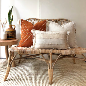 Burnt orange boho cushion Australia, Aztec House