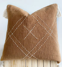 Load image into Gallery viewer, terracotta cushions aztec house australia, boho homewares melbourne