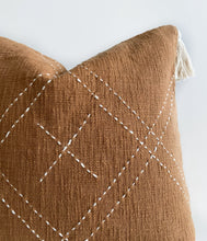 Load image into Gallery viewer, Clay tassel cushion