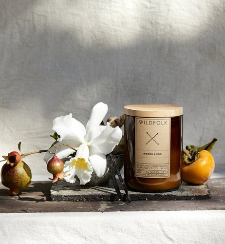 Wildfolk soy candle | Woodlands