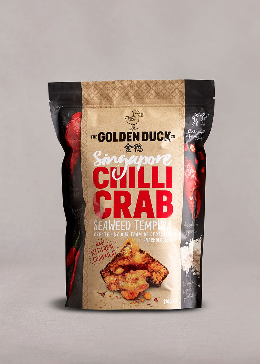 Singapore Chilli Crab Seaweed Tempura - The Golden Duck Co. International