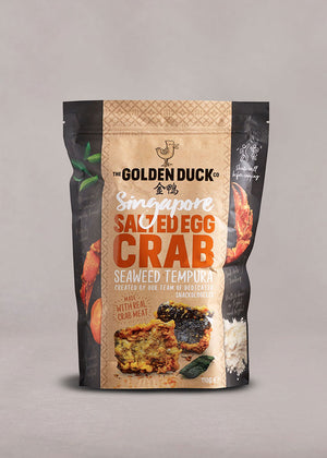 Singapore Salted Egg Crab Seaweed Tempura - The Golden Duck Co. International