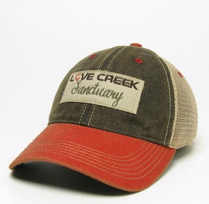 Love Creek Trucker Hat - Red