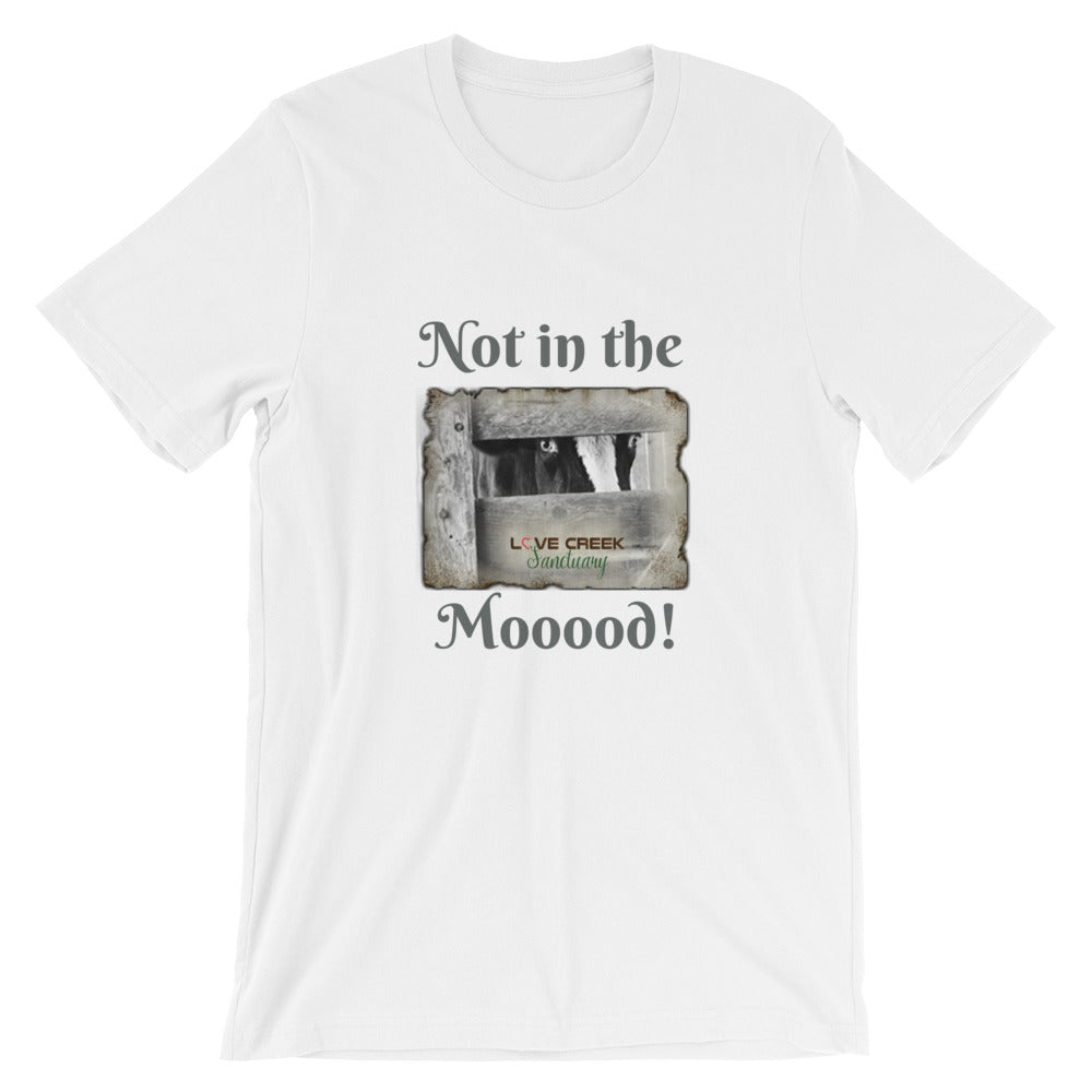 Short-Sleeve Unisex T-Shirt - Not in the Moood - Stu
