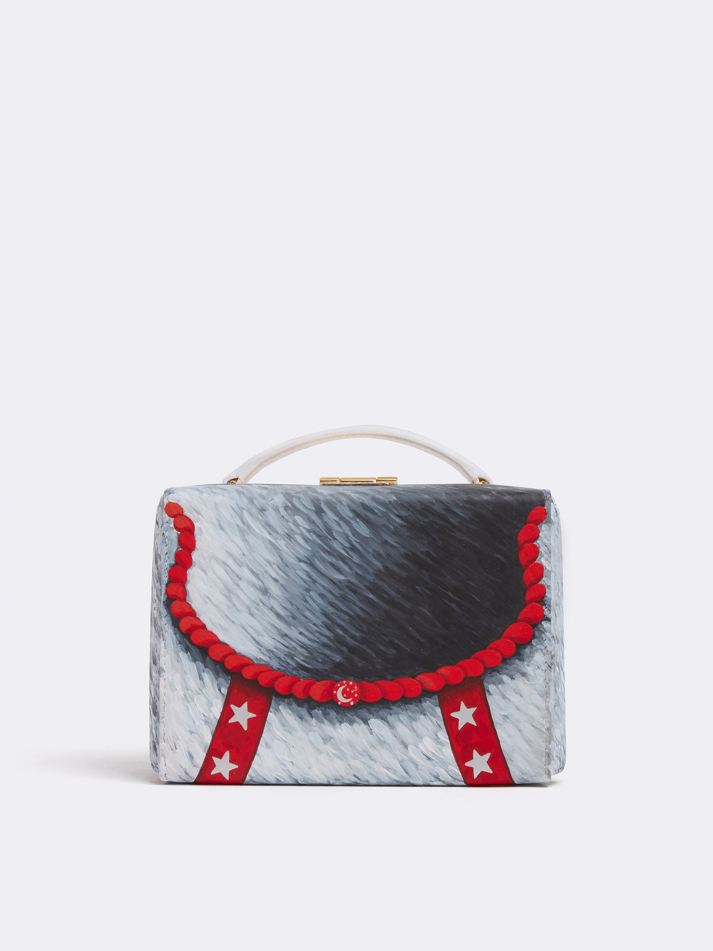 Sophie Matisse x Grace Small Leather Box Bag