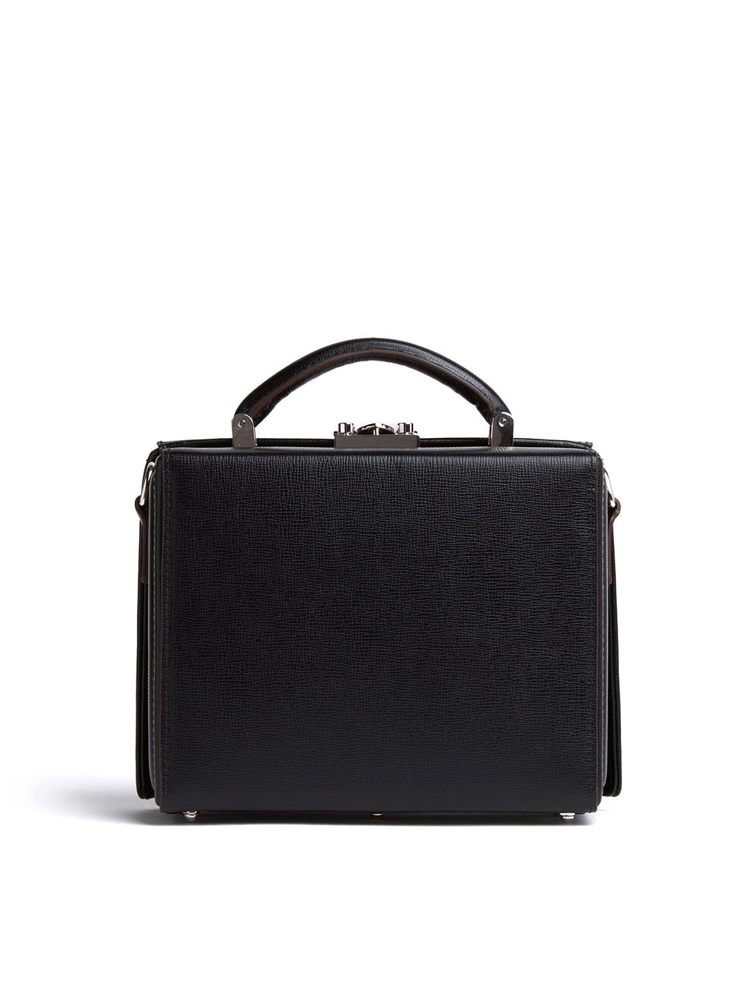 Gerald Leather Box Bag