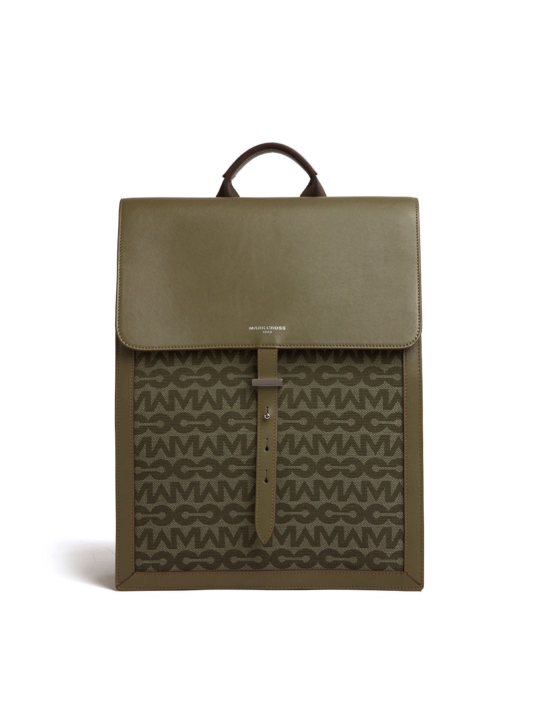 Andy MC Jacquard & Leather Backpack