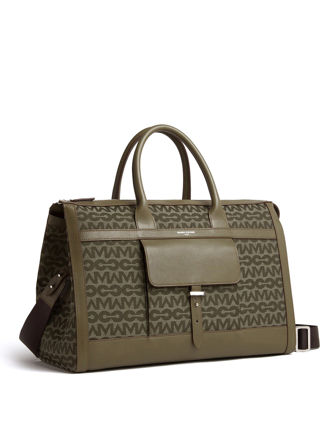 Mick Holdall MC Jacquard & Leather Duffle Bag