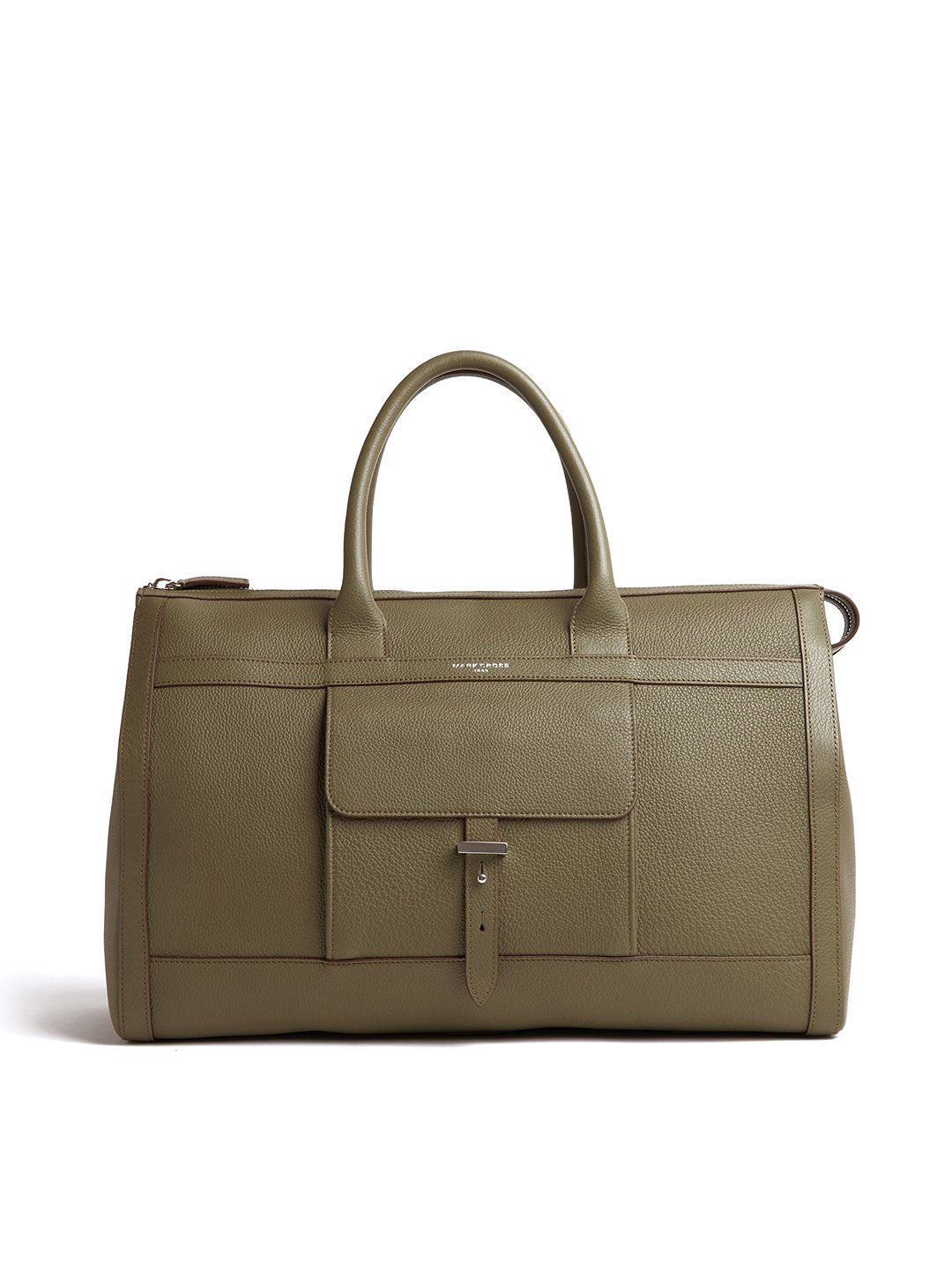 Mick Holdall Leather Duffle Bag